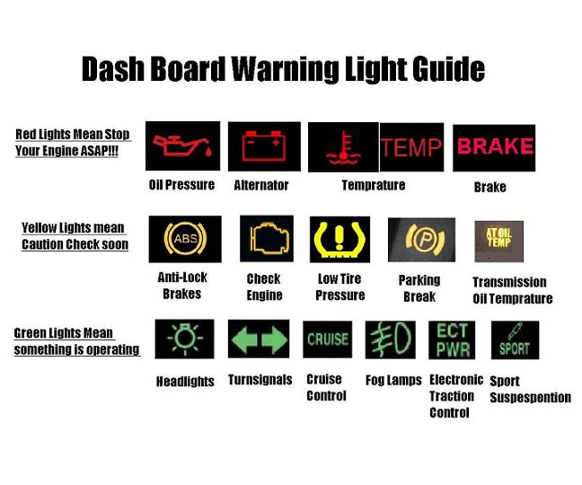 warning light meanings providence auto care